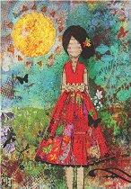 Слънчево момиче - пъзел