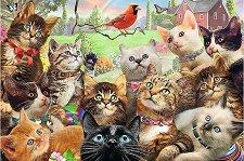 Котки - пъзел
