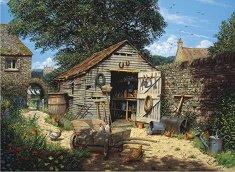 Селска барака - Едуард Хърси (Edward Hersey) - пъзел