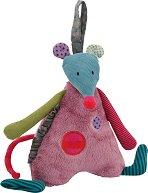 """Мишле - Музикална плюшена играчка от серията """"Jolis pas Beaux"""" -"""