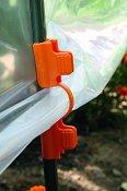 Щипки за оранжерия - Clip Tuteurs - Комплект от 10 броя