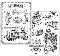 Трансферна хартия - Коледа у дома
