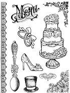 Гумени печати - Сватба - продукт