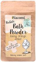 Nacomi Sunny Orange Sorbet Bath Powder - Пудра за вана с аромат на портокал - маска