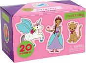 Принцеси - Детски комплект с магнити -