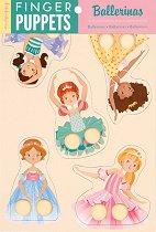 Кукли за пръсти - Балерина - Комплект от 5 броя - играчка
