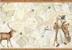 Декупажна хартия - Писма до Дядо Коледа