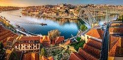 Последни лъчи над Порто -