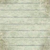 Декупажна хартия - Зелено дърво - Размери 50 x 50 cm