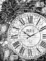 Декупажна хартия - Време - Формат А4