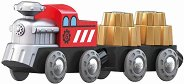 """Влак със зъбни колела - Детска дървена играчка от серията """"Hape: Влакчета"""" -"""