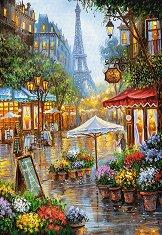 Пролетни цветя в Париж - пъзел