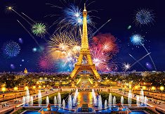 Бляскава нощ в Париж - пъзел