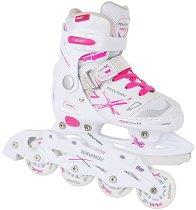Детски ролери и кънки за лед 2 в 1 - Neo X Duo Lady - продукт