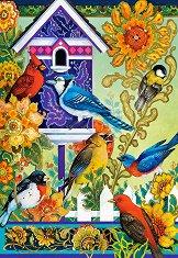 Птици в двора - пъзел