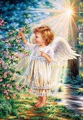Ангелско докосване - Дона Джелсинър (Dona Gelsinder) - пъзел