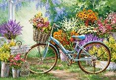 Цветята на март - пъзел