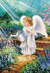 Подарък от ангел - Дона Джелсинър (Dona Gelsinder) - пъзел