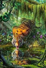 Тигър в джунгла - пъзел