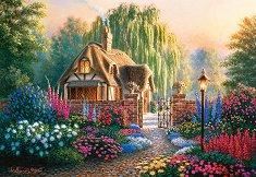 Крандфийлдски градини - И. Бърнс (I. Burns) - пъзел