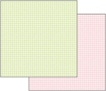 Хартия за скрапбукинг - Каре - Размери 30.5 х 30.5 cm