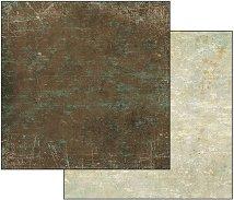 Хартия за скрапбукинг - Пастелно черно-сиво - Размери 30.5 х 30.5 cm