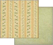 Хартия за скрапбукинг - Маргаритки - Размери 30.5 х 30.5 cm