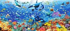 Морско дъно - панорама - пъзел