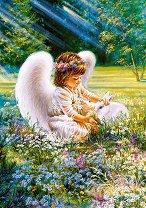 Грижовно ангелче - Дона Джелсинър (Dona Gelsinder) - пъзел