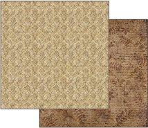 Хартия за скрапбукинг - Старинна дантела - Размери 30.5 х 30.5 cm