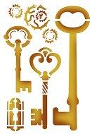 Шаблон - Ключове - Размери 20 x 15 cm