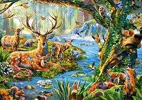Живот в гората - пъзел