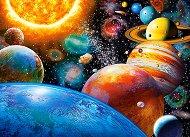 Планетите и техните луни - пъзел