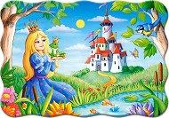 Принцесата и жабока - Пъзел в нестандартна форма -