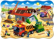 Строеж на къщи - Пъзел в нестандартна форма - пъзел