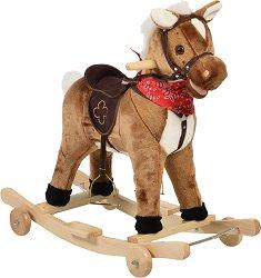 Конче - Chipper - Детска люлка с колелца и звуков ефект - играчка