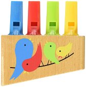 Флейта - Rainbow - Детски музикален инструмент - играчка