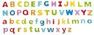 Буквите от английската азбука - Детска дървена играчка - играчка