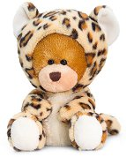Мече с костюм на леопард - Плюшена играчка -