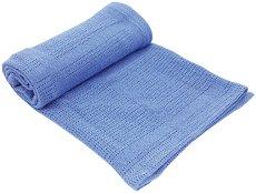 Бебешко памучно плетено одеяло - Cellular - Размер 75 x 100 cm - продукт