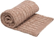 Бебешко памучно плетено одеяло - Melange - Размер 75 x 100 cm - продукт