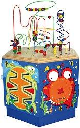 Образователен център - Коралов риф - Детска дървена играчка -