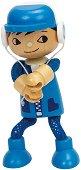 Момченце - Дървена мини кукла -