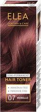 Elea Colour & Care Hair Toner - Полутраен тонер за коса - четка