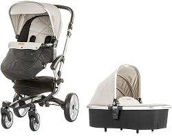 Бебешка количка 2 в 1 - Angel - С 4 колела -
