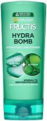 Garnier Fructis Aloe Fortifying Conditioner - Хидратиращ балсам за коса с алое вера - душ гел