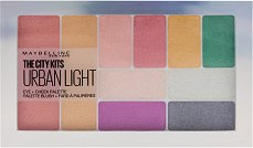 Maybelline The City Kits All-in-One Eye & Cheek Palette - Палитра за очи и скули - сенки, руж и хайлайтър - сенки