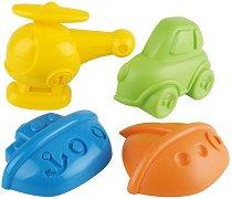 Формички за игра с пясък - Детски комплект - играчка