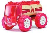 Пожарникарски камион - Детска дървена играчка - творчески комплект