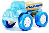 Камион - Детска дървена играчка -